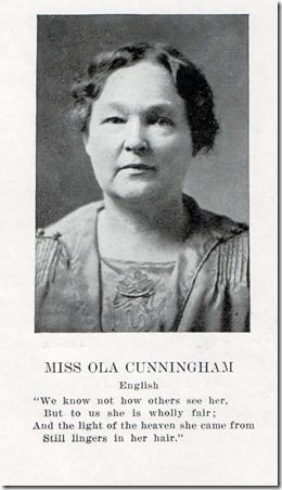 1920 Comanche High yearbook - she was 45