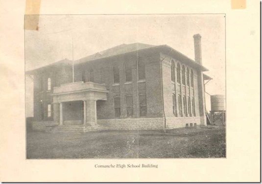 COMANCHE HIGH